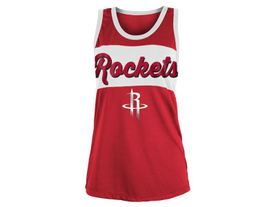 Houston Rockets 5th & Ocean NBA Women's Mesh Tank