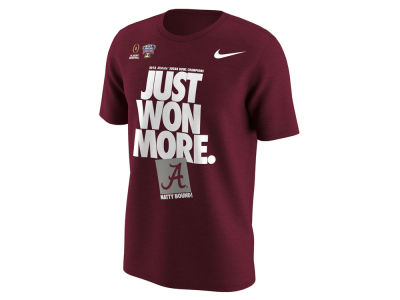 Alabama Crimson Tide Nike 2018 NCAA Men's College Football Playoff Sugar Bowl Champ Locker Room T-Shirt