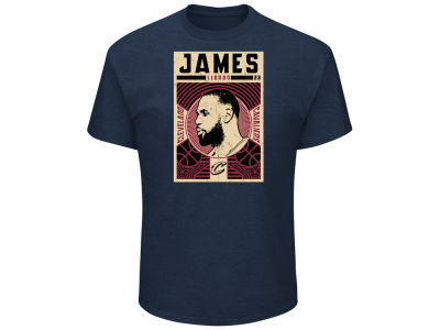Cleveland Cavaliers LeBron James Majestic NBA Men's Greatest Impact T-Shirt