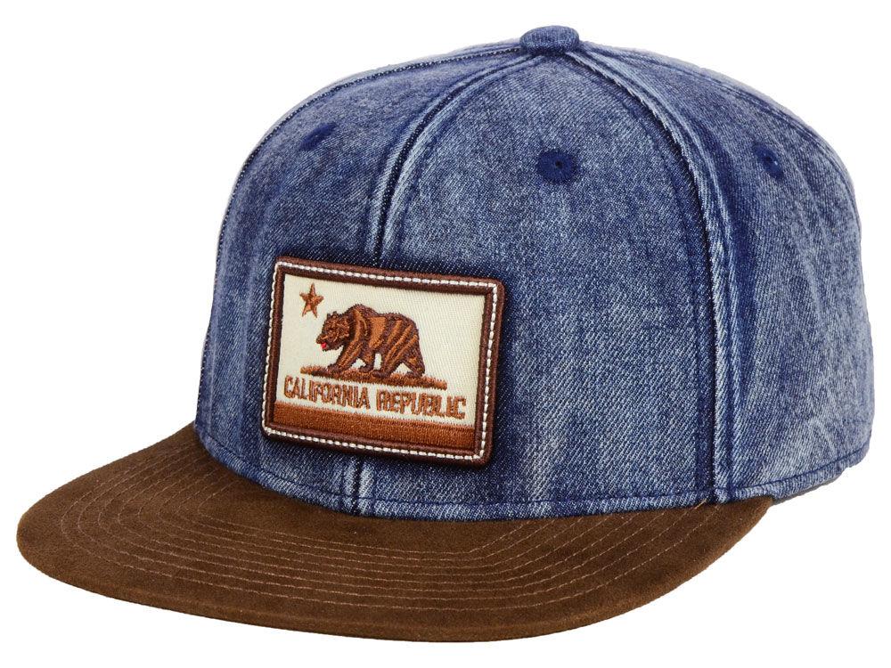 Official Cali Acid Denim Snapback Cap  ce46a1bd812