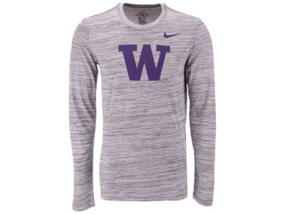 Washington Huskies Nike NCAA Men's Legend Travel Long Sleeve T-Shirt
