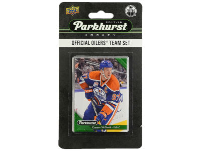 Edmonton Oilers 2017 NHL Team Card Set