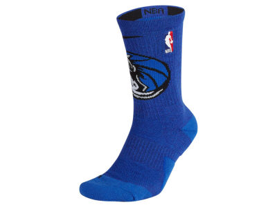 Dallas Mavericks Nike NBA Men's Elite Team Crew Socks