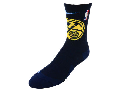 Denver Nuggets Nike NBA Men's Elite Team Crew Socks