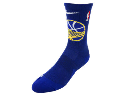 Golden State Warriors Nike NBA Men's Elite Team Crew Socks