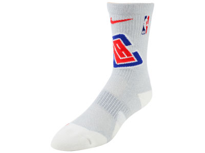 Los Angeles Clippers Nike NBA Men's Elite Team Crew Socks