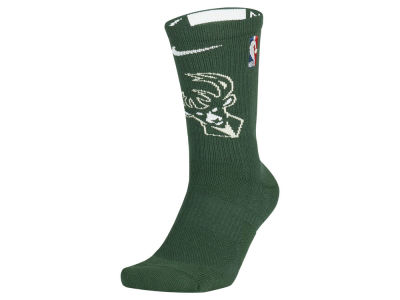 Milwaukee Bucks Nike NBA Men's Elite Team Crew Socks