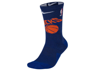 New York Knicks Nike NBA Men's Elite Team Crew Socks