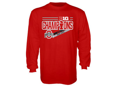 Ohio State Buckeyes Blue 84 NCAA Men's Locker Room Conference Champ Long Sleeve T-Shirt