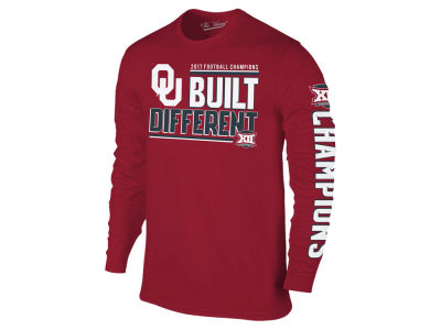 Oklahoma Sooners Retro Brand NCAA Big 12 Champ Long Sleeve T-Shirt 17