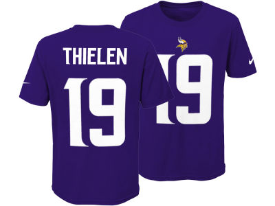 Minnesota Vikings Adam Thielen Nike NFL Youth Pride Name and Number T-Shirt