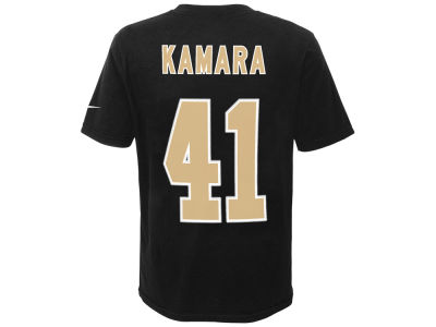 New Orleans Saints Alvin Kamara Nike NFL Youth Pride Name and Number T-Shirt