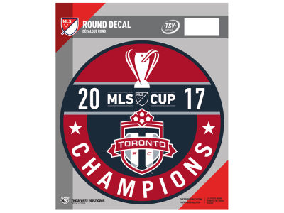 Toronto FC Champs Round Decal
