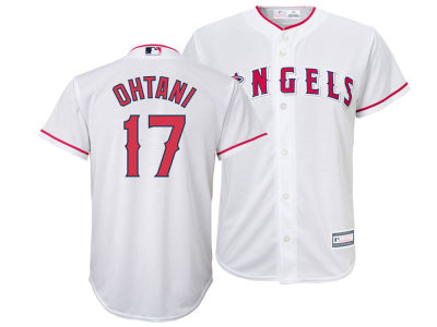 Los Angeles Angels Shohei Ohtani Majestic MLB Youth Player Replica Cool Base Jersey