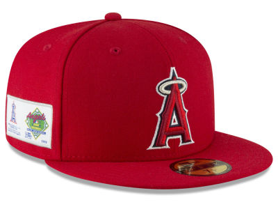 Los Angeles Angels New Era MLB Jersey Custom 59FIFTY Cap