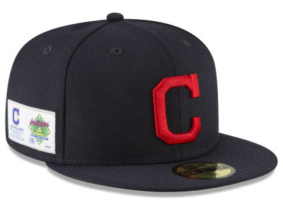 Cleveland Indians New Era MLB Jersey Custom 59FIFTY Cap