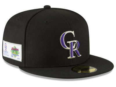 Colorado Rockies New Era MLB Jersey Custom 59FIFTY Cap