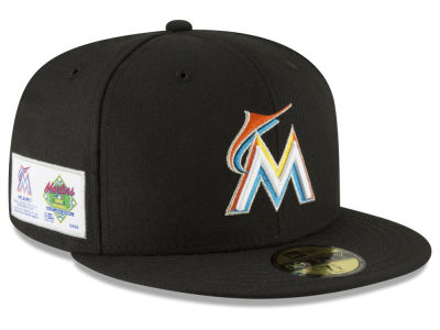 Miami Marlins New Era MLB Jersey Custom 59FIFTY Cap