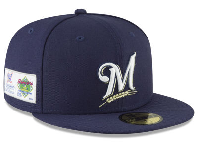 Milwaukee Brewers New Era MLB Jersey Custom 59FIFTY Cap