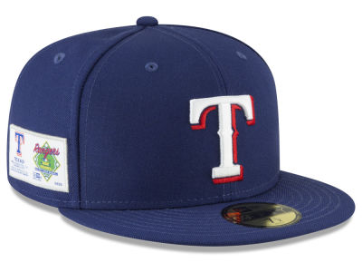 Texas Rangers New Era MLB Jersey Custom 59FIFTY Cap