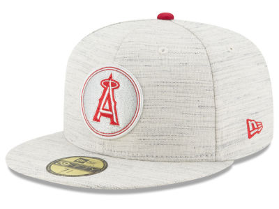 Los Angeles Angels New Era MLB Team Out Heather 59FIFTY Cap