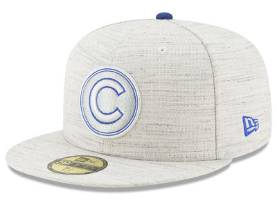 Chicago Cubs New Era MLB Team Out Heather 59FIFTY Cap