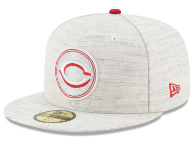 Cincinnati Reds New Era MLB Team Out Heather 59FIFTY Cap