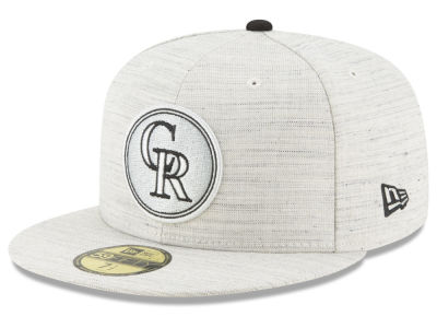 Colorado Rockies New Era MLB Team Out Heather 59FIFTY Cap