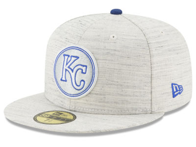 Kansas City Royals New Era MLB Team Out Heather 59FIFTY Cap