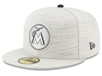 Miami Marlins New Era MLB Team Out Heather 59FIFTY Cap