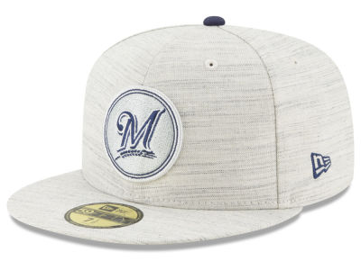Milwaukee Brewers New Era MLB Team Out Heather 59FIFTY Cap