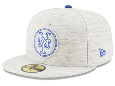 New York Mets New Era MLB Team Out Heather 59FIFTY Cap