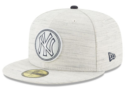 New York Yankees New Era MLB Team Out Heather 59FIFTY Cap
