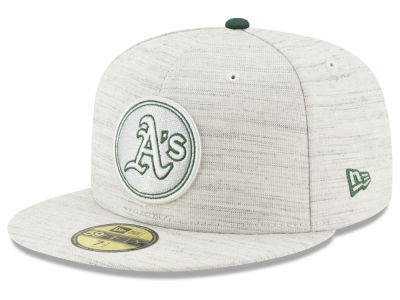 Oakland Athletics New Era MLB Team Out Heather 59FIFTY Cap