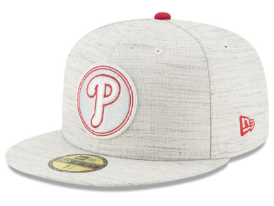 Philadelphia Phillies New Era MLB Team Out Heather 59FIFTY Cap