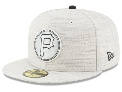 Pittsburgh Pirates New Era MLB Team Out Heather 59FIFTY Cap