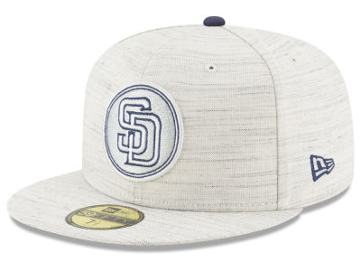 San Diego Padres New Era MLB Team Out Heather 59FIFTY Cap