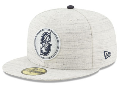 Seattle Mariners New Era MLB Team Out Heather 59FIFTY Cap