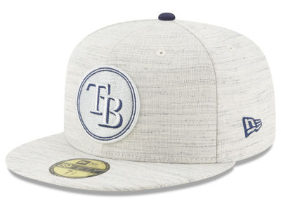 Tampa Bay Rays New Era MLB Team Out Heather 59FIFTY Cap