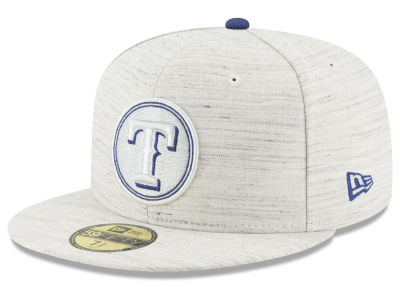 Texas Rangers New Era MLB Team Out Heather 59FIFTY Cap