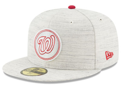 Washington Nationals New Era MLB Team Out Heather 59FIFTY Cap
