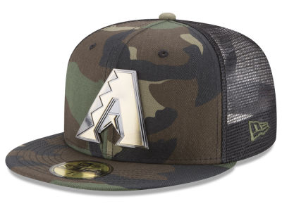 Arizona Diamondbacks New Era MLB Camo Mesh Back 59FIFTY Cap