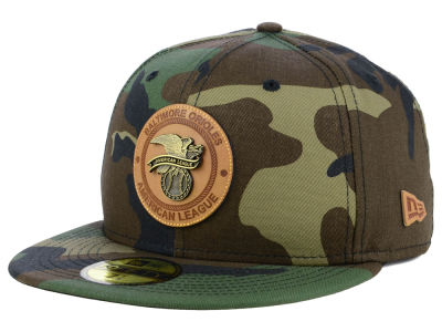 Baltimore Orioles New Era MLB Camo Badge 59FIFTY Cap