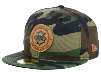Chicago Cubs New Era MLB Camo Badge 59FIFTY Cap