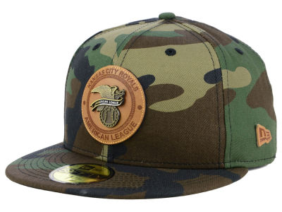 Kansas City Royals New Era MLB Camo Badge 59FIFTY Cap