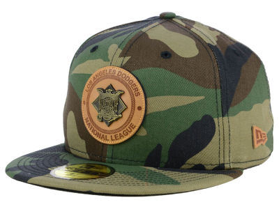 Los Angeles Dodgers New Era MLB Camo Badge 59FIFTY Cap