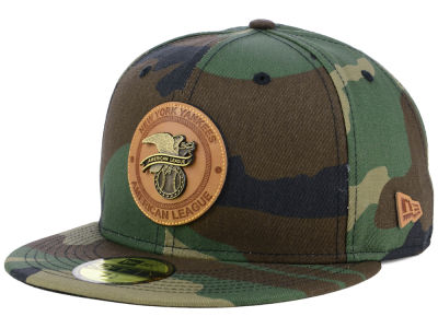 New York Yankees New Era MLB Camo Badge 59FIFTY Cap