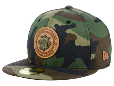 Pittsburgh Pirates New Era MLB Camo Badge 59FIFTY Cap
