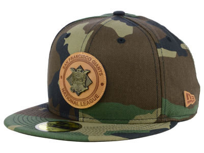 San Francisco Giants New Era MLB Camo Badge 59FIFTY Cap