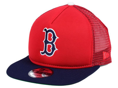 Boston Red Sox New Era MLB Classic Trucker 9FIFTY Snapback Cap